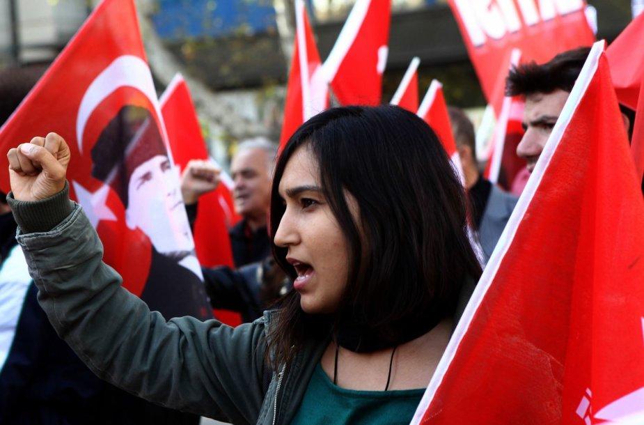 Protestas Turkijoje