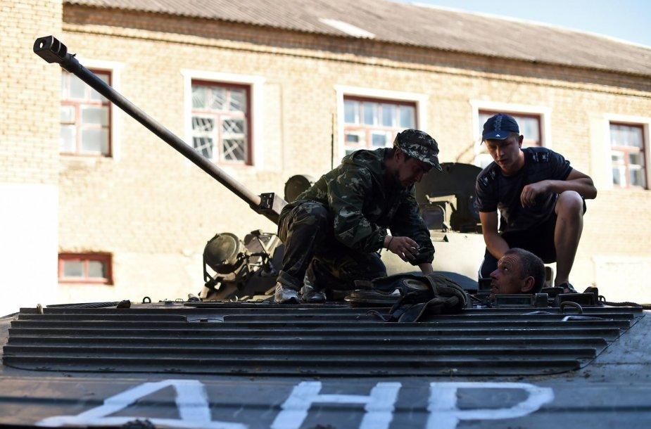 Rusijos remiami teroristai