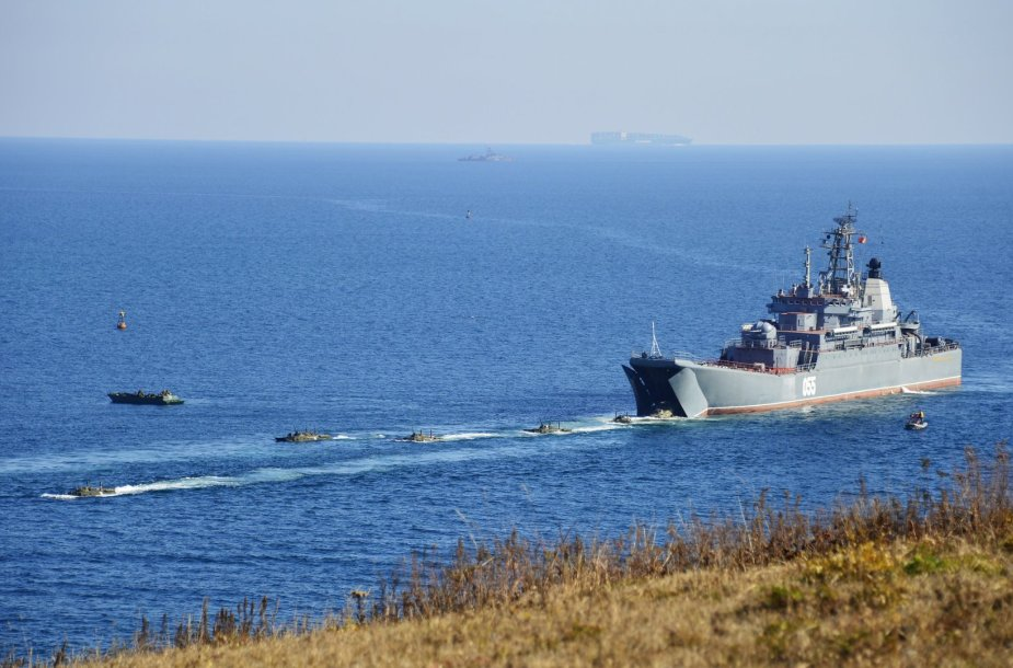Rusijos karinis laivas