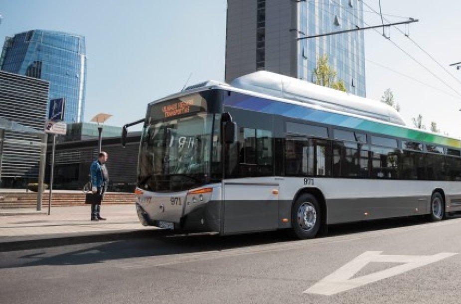 Atlikti tyrimai rodo, kad nauja patogiausia ir efektyviausia transporto rūšis sostinėje turėtų būti greitieji autobusai.