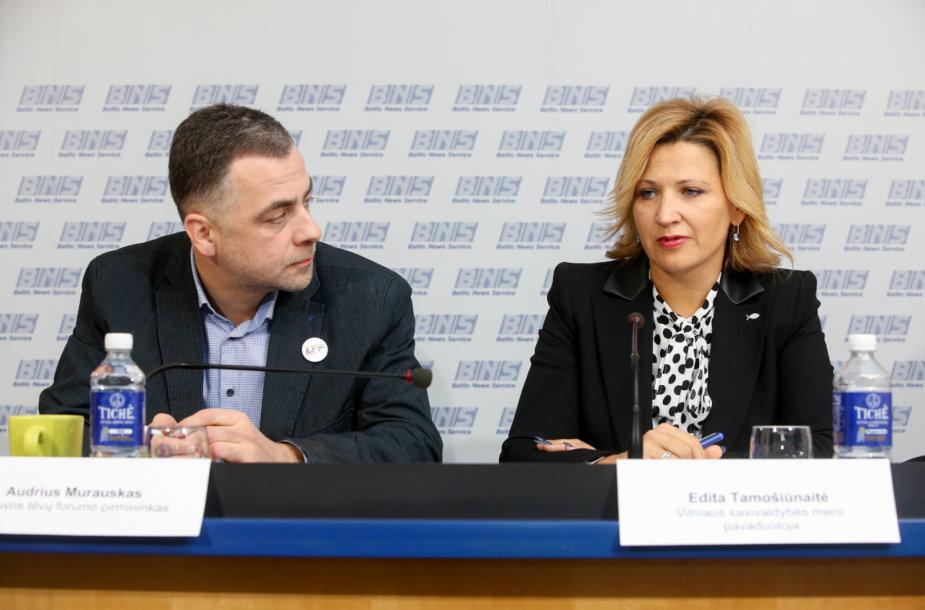Audrius Murauskas ir Edita Tamošiūnaitė