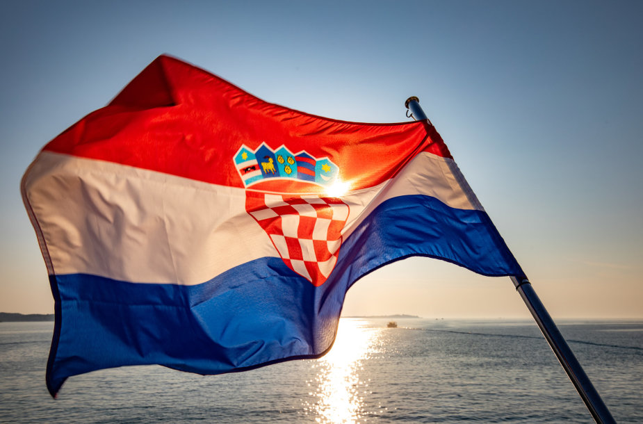 Kroatijos vėliava