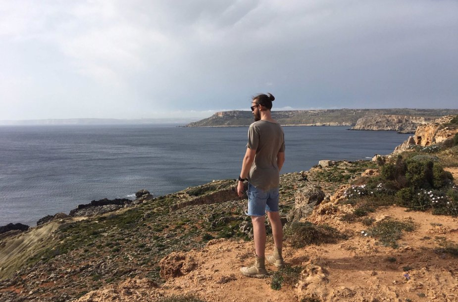 Tautvydo Žūko gyvenimas Maltoje