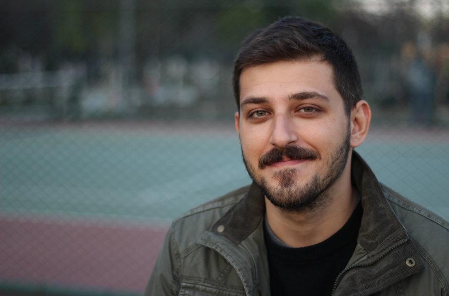 Į Kauną savanoriauti atvykęs turkas Ilkeras Dönmezas
