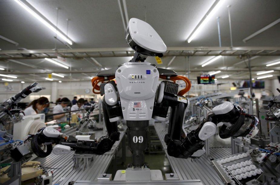 Robotai žengia į mūsų kasdieninį pasaulį