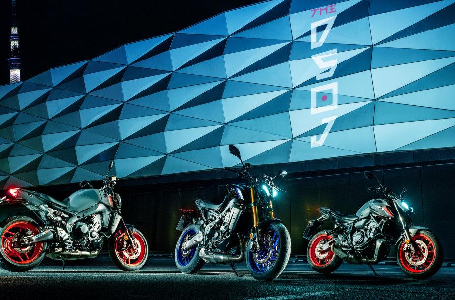 """""""Yamaha"""" gerbėjams Lietuvoje išskirtinė galimybė išbandyti visus MT serijos motociklus"""