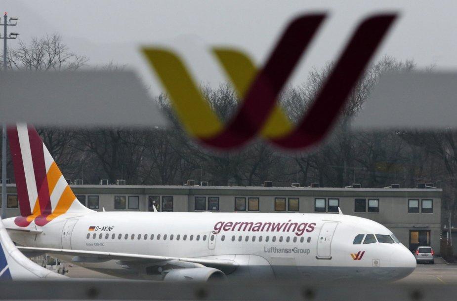 """""""Germanwings"""" lėktuvas."""