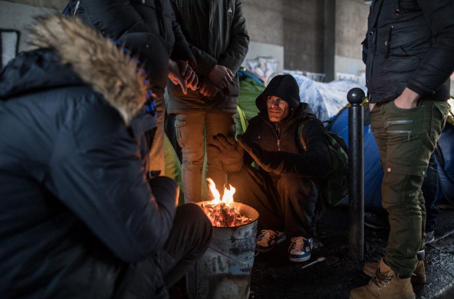 Migrantai Prancūzijoje