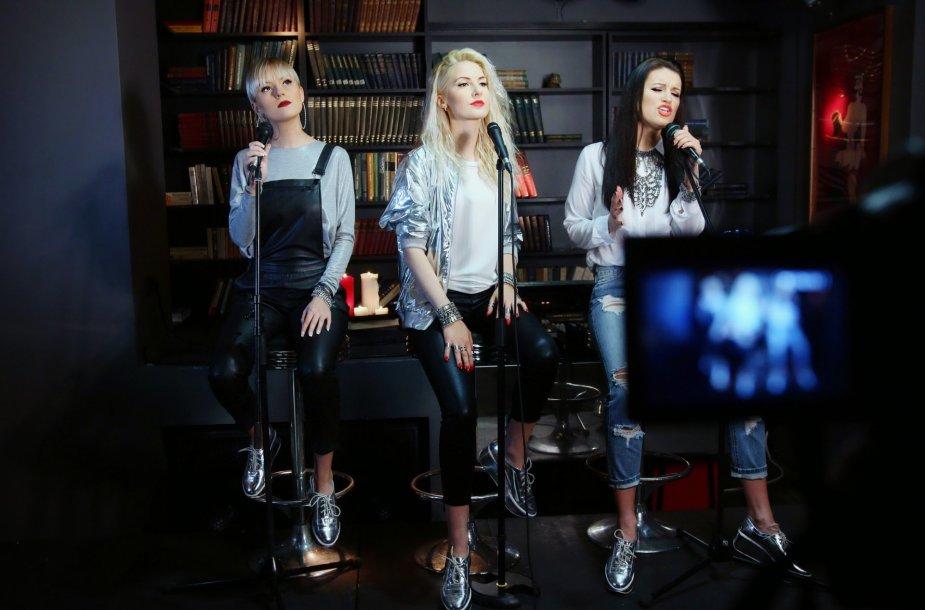 Laura Navikaitė, Kristina Ivanova, Emilija Katauskaitė