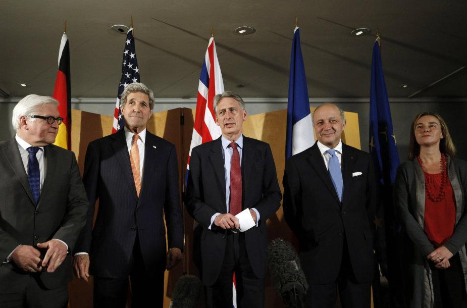 Po derybų dėl Irano branduolinės programos