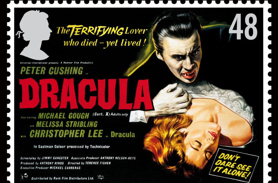 """1958-ųjų """"Drakulos"""" afiša"""