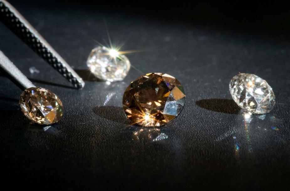 O taip pat laboratorijoje jau galima užauginti deimantus, kurie yra tinkami juvelyrikai