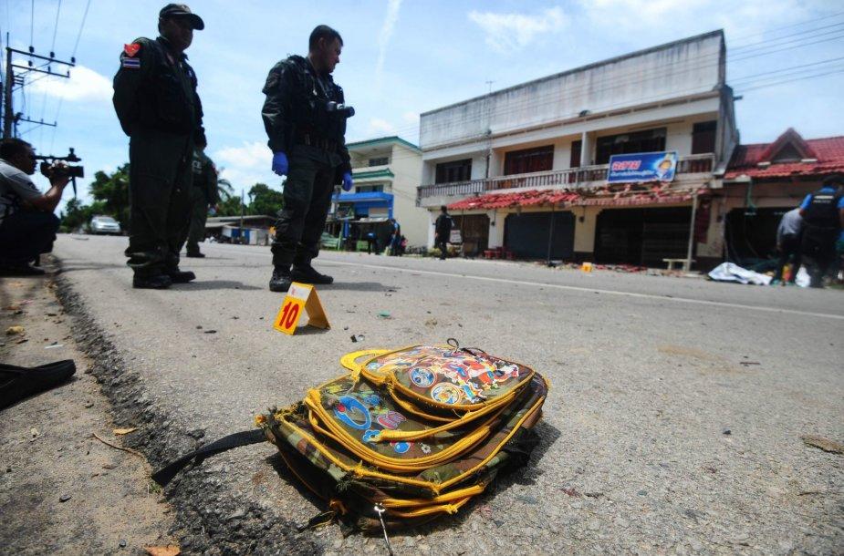 Sprogimas Pietų Tailande