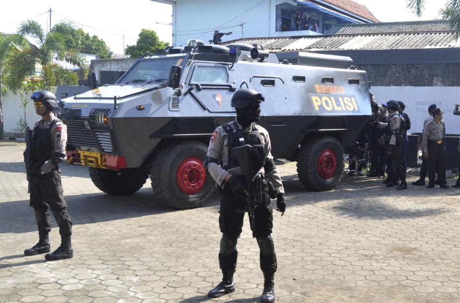 Indonezijos policija
