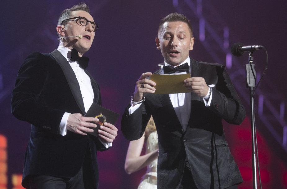 Andrius Rožickas ir Vladimiras Simonko