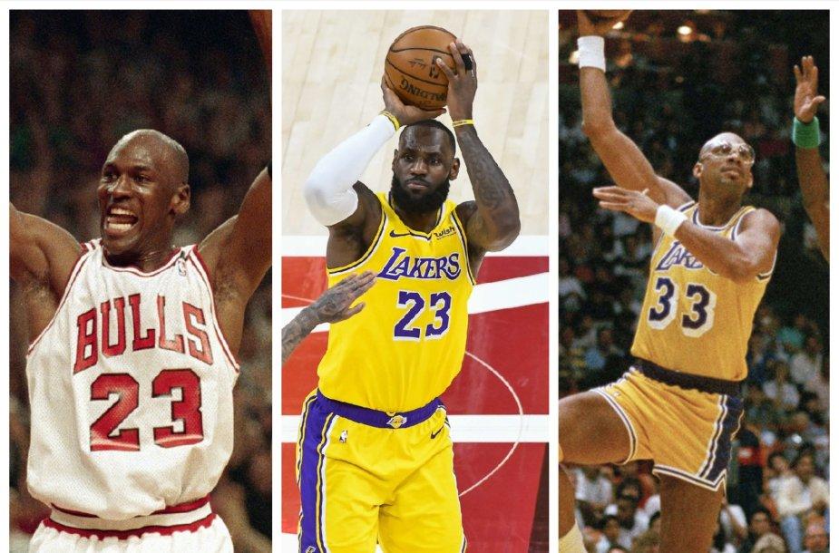 Rezultatyviausi NBA žaidėjai