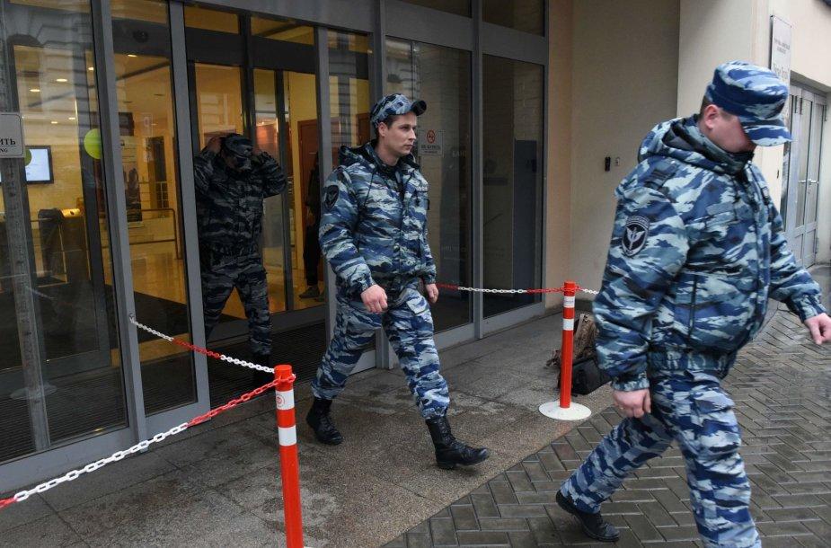 """Rusijos policija krėtė organizacijos """"Atviroji Rusija"""" biurus"""