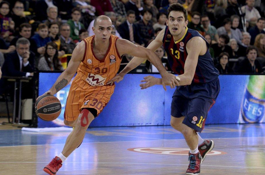 """Carlosas Arroyo ir Tomašas Satoransky jau žaidė kartu """"Barcelona"""" ekipoje"""
