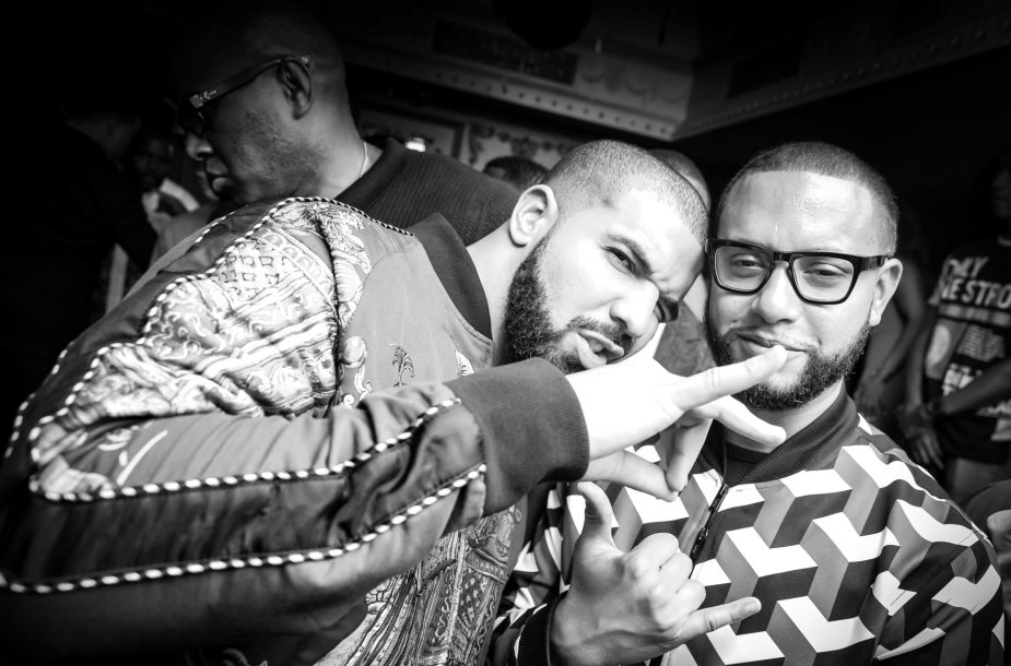 Director X ir Drake'as / Vida Press nuotr.
