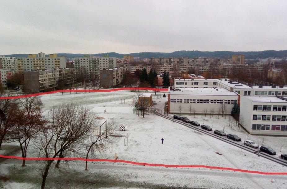 Šv. Kristoforo gimnazijos teritorija