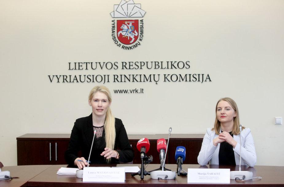 Laura Matjošaitytė ir Marija Šaraitė