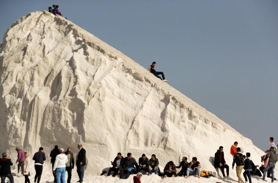 Druskos kalnai Egipte