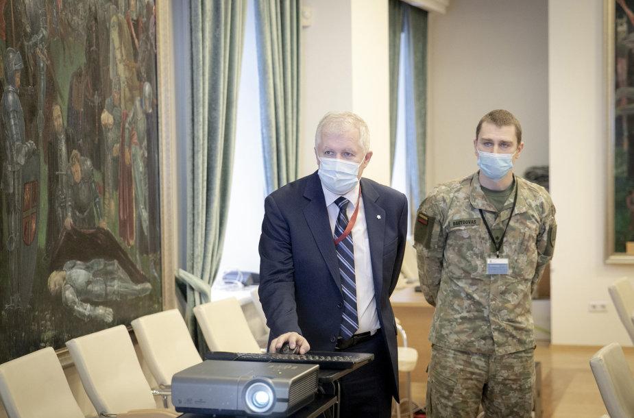 Sudaryti 2021 m. šaukiamųjų į nuolatinę privalomąją pradinę karo tarnybą sąrašai