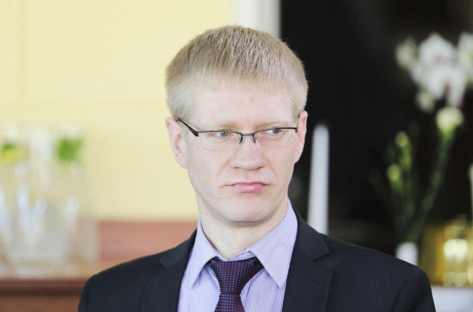 Kaišiadorių meras konservatorius Vytenis Tomkus