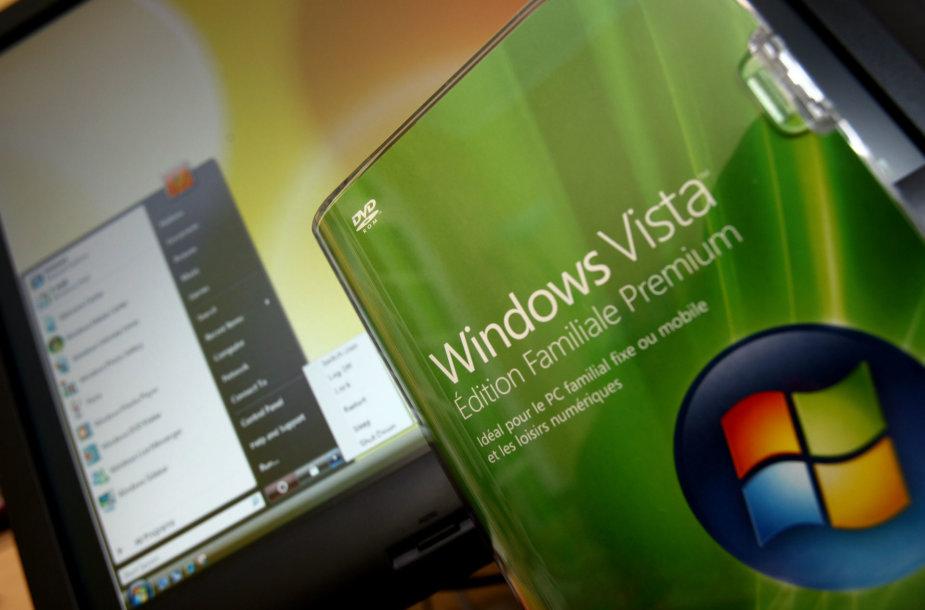 """""""Windows Vista"""" operacinė sistema"""