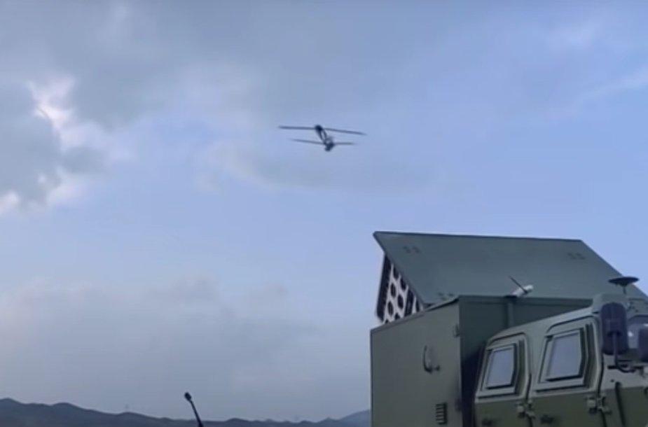 Kiniško savižudžio drono paleidimas