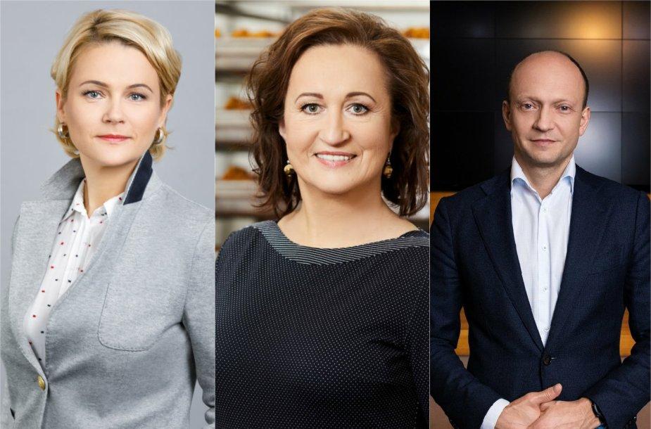 Ernesta Dapkienė, Vilma Juodkazienė, Nerijus Mačiulis