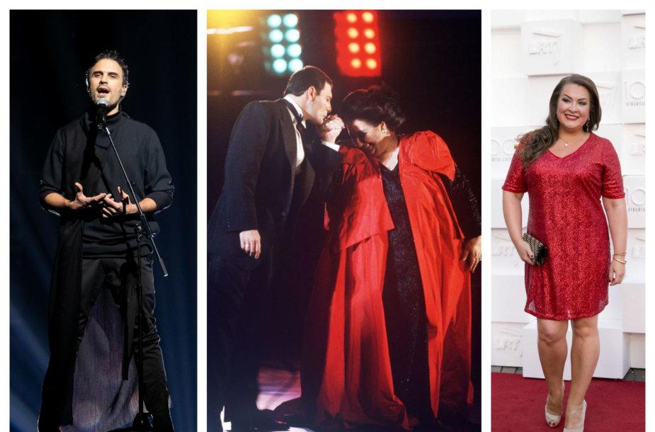 Mantas Jankavičius, Montserrat Caballe ir Freddie Mercury, Nomeda Kazlaus