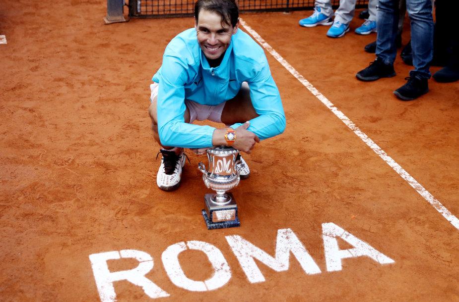 Rafaelis Nadalis 2019 metais laimėjo turnyrą Romoje
