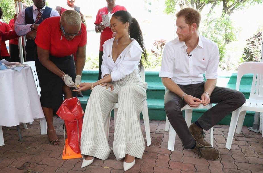 Rihanna ir princas Harry