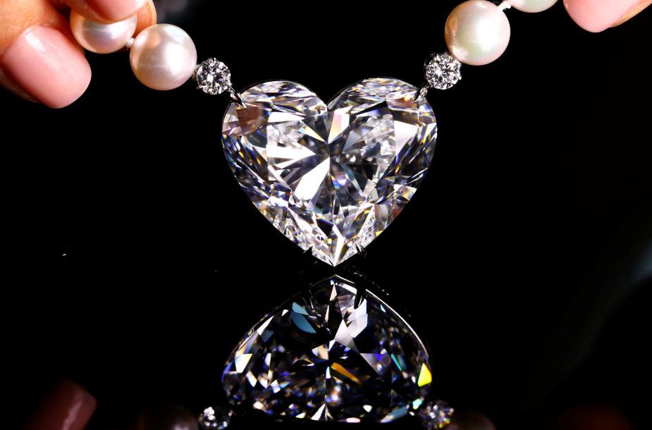 """92 karatų deimantas """"La Legende"""""""