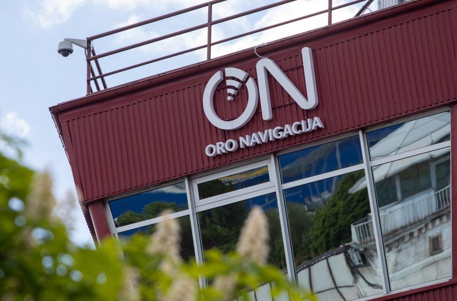 """""""Oro navigacija"""" logotipas"""