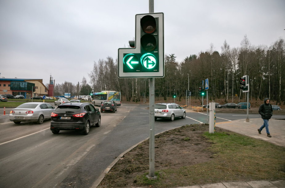 Rekonstruota Ąžuolyno gatvė Vilniuje