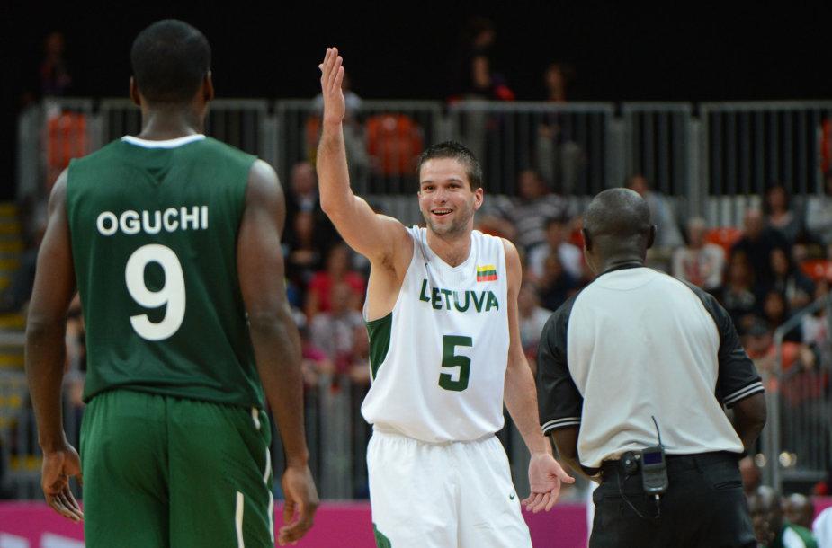 Lietuva – Nigerija 2012-ųjų olimpinėse žaidynėse