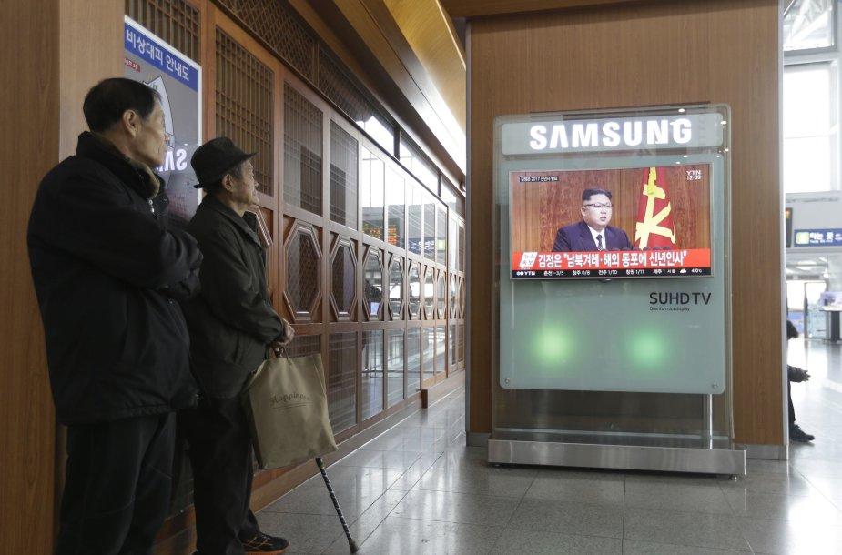 Naujieji metai Šiaurės Korėjoje