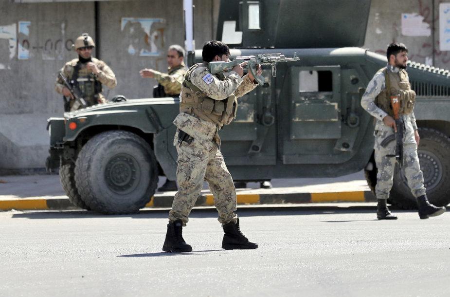 Kabule netoli JAV ambasados nugriaudėjo sprogimas