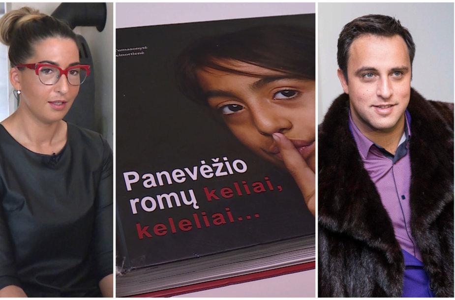 Rasma Pažemeckaitė, knyga apie romus, Radžis