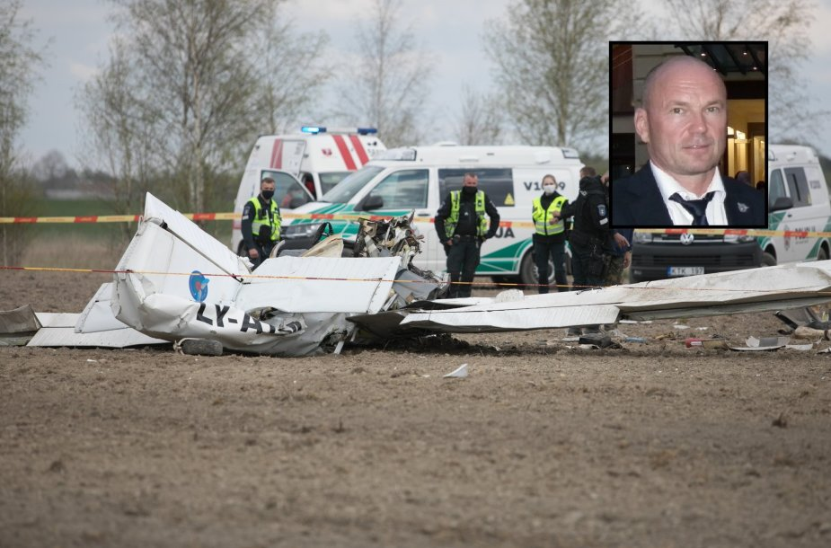 Nukritus lėktuvui žuvo akrobatinio skraidymo meistras D.Bleifertas