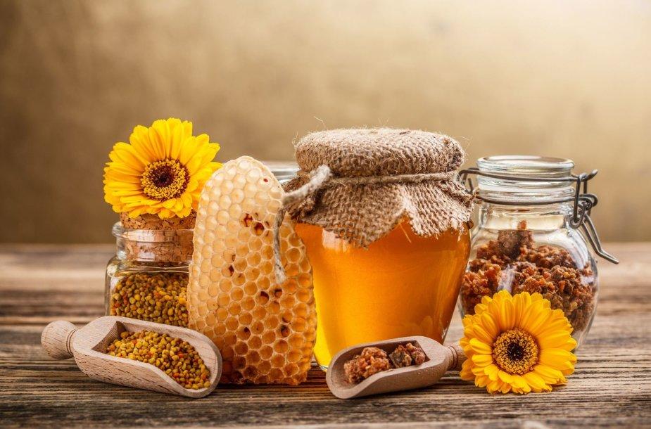 Medus ir bičių pikis