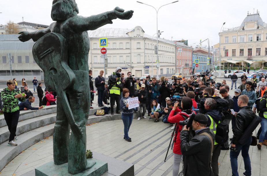 Nauji protestai Maskvoje
