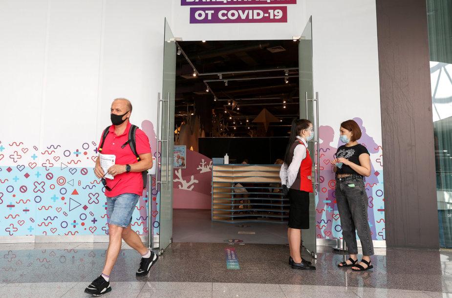 Skiepijimas nuo koronaviruso Rusijoje