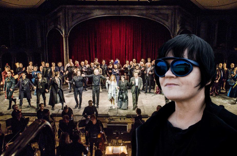 """Opera """"Faustas"""" ir jos režisierė Dalia Ibelhauptaitė"""