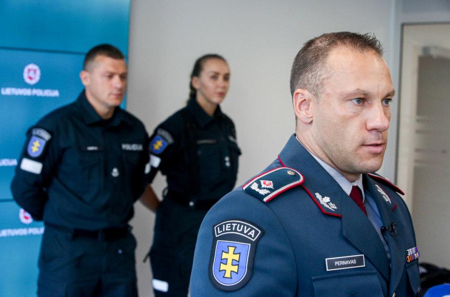 Lietuvos policija pristato naujas uniformas
