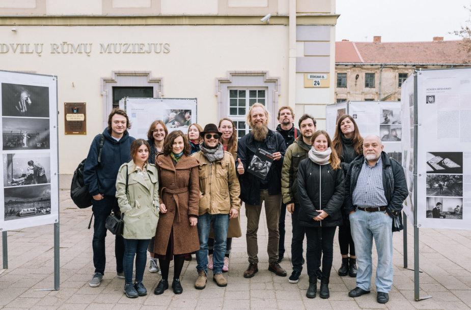 """Vilniuje tryliktą kartą surengtas vienintelis Lietuvoje tarptautinis fotožurnalistikos festivalis """"Vilniaus fotografijos ratas"""""""