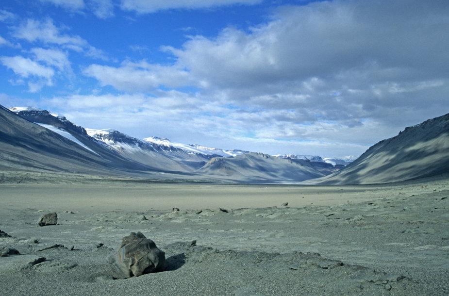 Sausiausia pasaulio vieta Antarktidoje
