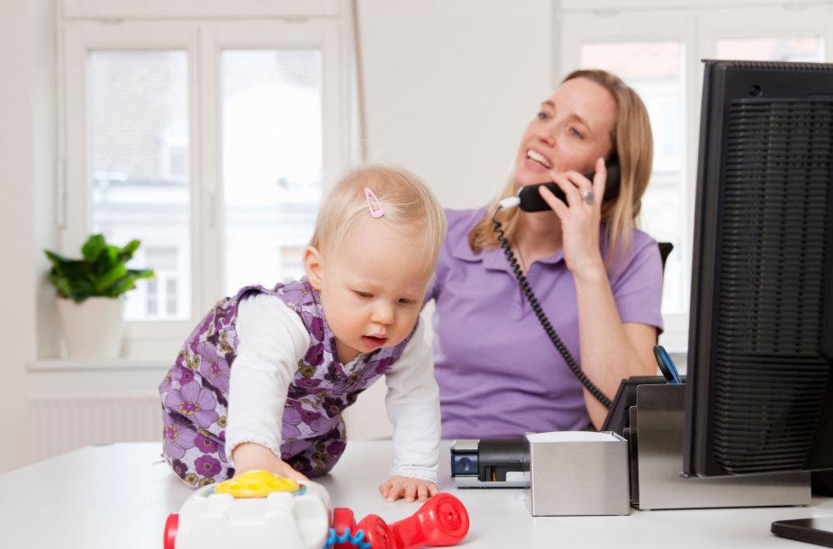 Dirbanti mama